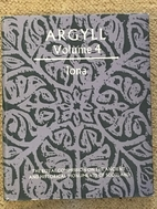 Inventory of the Ancient Monuments: Argyll…