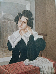 Author photo. Wikipedia, painting from 1830 by Nikolai Alexandrowitsch Bestushew (1791-1855)