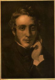 Author photo. Edward Bulwer Lord Lytton - From a painting by Henry William Pickersgill R.A. Photo supplement to The Bookman May 1903