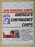 XVIII Airborne Corps, America's Contingency…