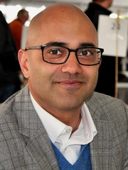 Author photo. Playwright Ayad Akhtar at the 2012 Texas Book Festival, Austin, Texas, United States. He won the 2013 Pulitzer Prize for Drama for his play Disgraced. By Larry D. Moore, CC BY-SA 3.0, <a href=&quot;https://commons.wikimedia.org/w/index.php?curid=22619793&quot; rel=&quot;nofollow&quot; target=&quot;_top&quot;>https://commons.wikimedia.org/w/index.php?curid=22619793</a>