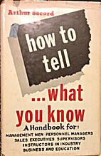 Inscribed How to Tell What You Know A…