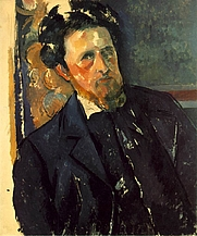 Author photo. Joachim Gasquet by Paul Cezanne - Narodni Galerie, Prague