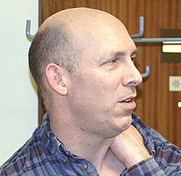 Author photo. Photograph of Phil Bragg at a Phasmid Study Group Meeting