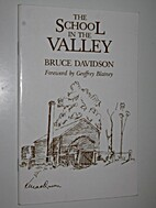 The school in the valley by B. R. Davidson