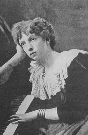 Author photo. From &quot;Woman's Work in Music,&quot; Arthur Elson, 1903 <BR>Project Gutenberg
