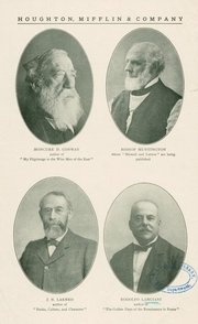 """Author photo. Rodolfo Lanciani (bottom right).  Courtesy of the <a href=""""http://digitalgallery.nypl.org/nypldigital/dgkeysearchdetail.cfm?strucID=1028688&imageID=1552661""""> NYPL Digital Gallery </a> (image use requires permission from the New York Public Library)"""