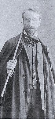 Author photo. Photograph (1903) by Alex Bratsch