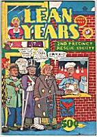 Lean Years #1 by Kim Deitch