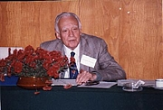 Author photo. Major Kenneth Mellanby CBE