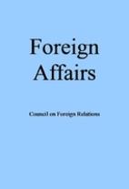 Foreign Affairs Magazine, September/October…