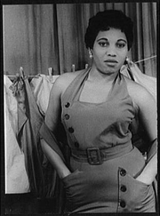 "Author photo. Photo by Carl Van Vechten, May 19, 1953 ""Porgy and Bess"" (Library of Congress, Carl Van Vechten Collection, Reproduction number: LC-USZ62-94217)"