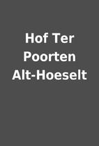 Hof Ter Poorten Alt-Hoeselt