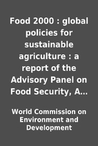 Food 2000 : global policies for sustainable…
