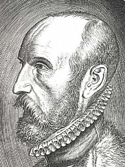 Author photo. Abraham Ortelius (cropped). Wikimedia Commons.