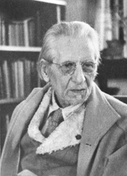Author photo. Ananda K. Coomaraswamy in his study in later years