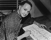 Author photo. Dick DeMarsico (1958) Library of Congress: http://www.loc.gov/rr/print/res/076_nyw.html