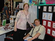 Author photo. From the highprogrammer.com website report on GenCon Indy 2007