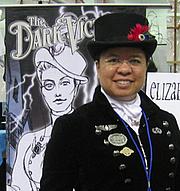 Author photo. Elizabeth Watasin at Comikaze Expo 2012.