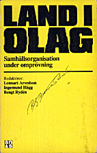 Land i olag : samhällsorganisation…