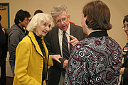 """Author photo. Alice von Hildebrand (left), at a Conference honoring her Husband, Oct. 2007.  Courtesy of <a href=""""http://www.franciscan.edu/"""">  Franciscan University of Steubenville</a>."""