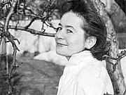 Author photo. Hilde Domin, 1959