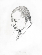 """Author photo. Drawing by Quiz (Powys Evans), at <a href=""""http://www.chrisbeetles.com/gallery/picture.php?pic=18227"""" rel=""""nofollow"""" target=""""_top"""">Chrisbeetles.com</a>"""