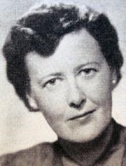 Author photo. Margit Söderholm - © Svenskt författarlexikon(1941-1950) Rabén & Sjögren 1953 s.595