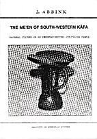 The Me'en of south-western Käfa :…