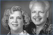 Author photo. Betsy Maestro with husband and co-author Giulio Maestro