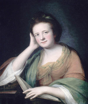 Author photo. Frances Brooke, by Catherine Read, ca. 1771 — oil on canvas