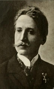 Author photo. Georges Rodenbach. Frontispiece from Georges Rodenbach (1920) by Georges Ramaekers