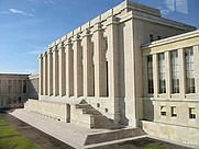 Author photo. The League of Nations' Assembly building in Geneva, Switzerland. Photo by German Wikipedia user <a href=&quot;http://de.wikipedia.org/wiki/User:Filzstift&quot;>Filzstift</a>