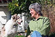 Author photo. Photograph of Donna Haraway and Cayenne by Rusten Hogness
