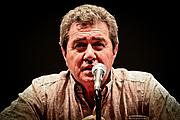 Author photo. Alan Duff. Photo by Simon Birkenfeld (Manatū Taonga)