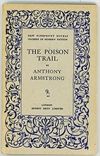 The Poison Trail by Anthony Armstrong