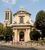 Author photo. Church of St. Nicholas du Chardonnet, Paris.  Photo by Marie-Lan Nguyen / Wikimedia Commons.