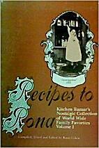 Recipes to Rona : Kitchen Bazaar's…