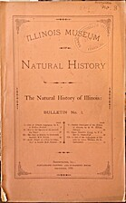 The Natural history of Illinois: Bulletin…