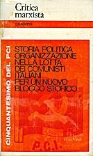 Critica Marxista quaderni n. 5 - Storia,…