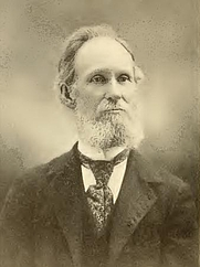 Author photo. John Harrison Tenney. Portrait from page 218 of Biography of Gospel song and hymn writers (1914) by Jacob Henry Hall