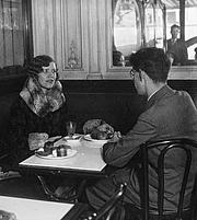 Author photo. Wikipedia, Grigori Rasputin's daughter Maria Rasputin (1898-1977) being interviewed by a journalist from the Spanish magazine Estampa in 1930
