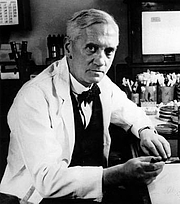 Author photo. Sir Alexander Fleming