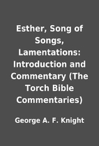 Esther, Song of Songs, Lamentations:…