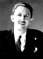 Author photo. David Dodge (1910-1974).