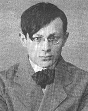 "Author photo. From <a href=""http://en.wikipedia.org/wiki/Image:Tristan_Tzara.jpg"">Wikimedia Commons</a>"