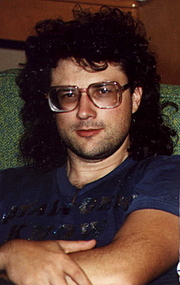 Author photo. Eric v.d. Luft in 1992.