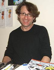Author photo. Dorkin at the Big Apple Con, November 14, 2008.