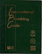 International Plumbing Code 1995 by Inc.…