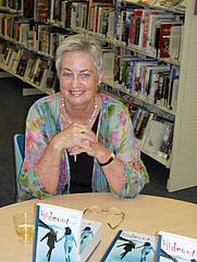 Author photo. Launch of Hideout
